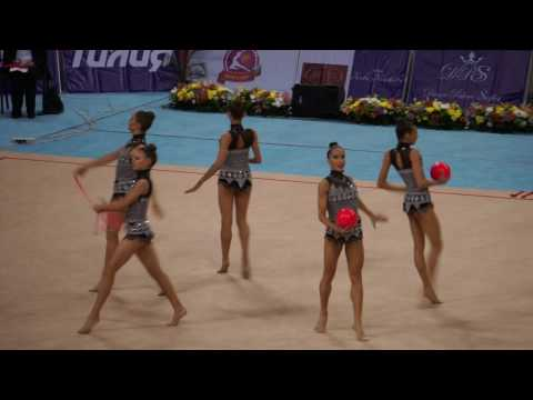 Bulgaria group balls and ropes Sofia 2017