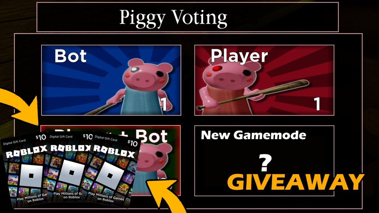 🔴PIGGY NEW GAMEMODE! | ROBUX GIVEAWAY! | PIGGY HYPE!!