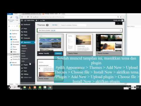 Video ini berisikan tutorial instalasi joomla di Localhost XAMPP Postinan ini didesikasikan kepada P.