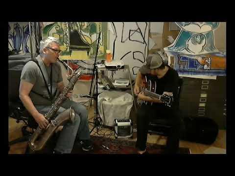 Download Joe Fournier & Dave Walker - Improv 1 - 2018-1003 (Ibanez JS100, Jazz Guitar)