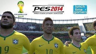 Mexico Vs Brazil PES 12