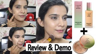 *New* Lakme 9 To 5 Naturale Foundation   How to apply Foundations with Brush   Super Style Tips