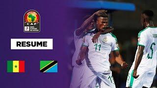 CAN 2019 : Le Sénégal s'impose sans trembler contre la Tanzanie