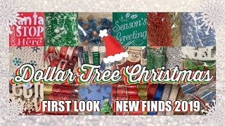 DOLLAR TREE CHRISTMAS #1🎄😁FIRST LOOK OMG‼️AMAZING NEW FINDS • SEPTEMBER 9 2019