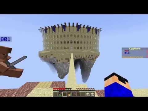 "Minecraft Egg Wars   "" แผนการพิชิต Hacker """