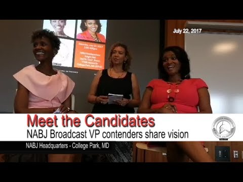 WABJ 2017 Meet the Candidates for NABJ VP of Broadcast Dorot