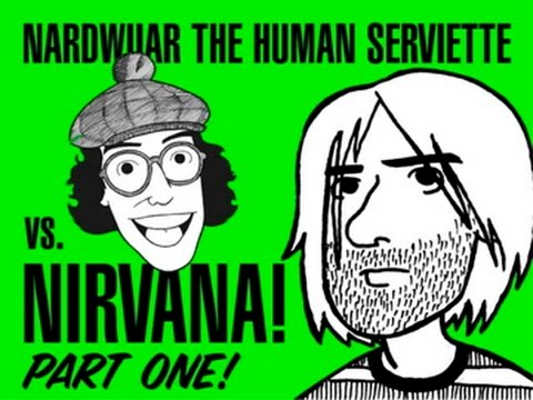 Nardwuar vs Nirvana pt 1 of 3