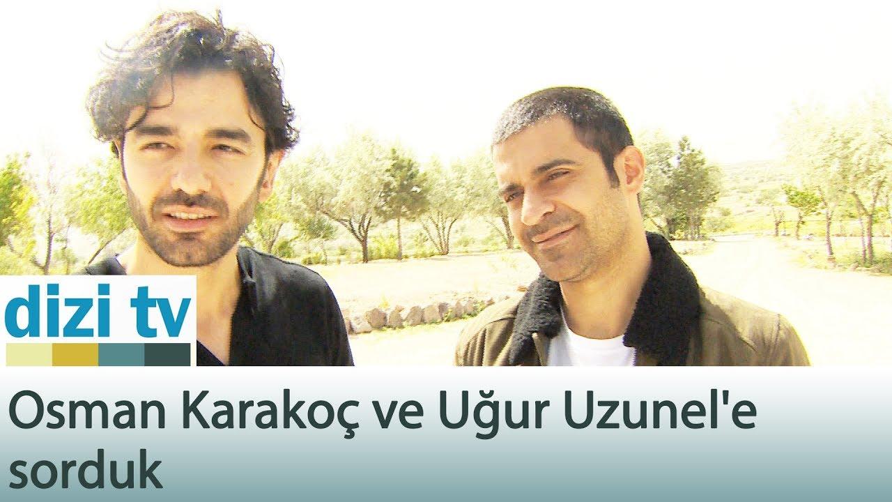 Osman Karakoç ve Uğur Uzunel'e sorduk - Dizi Tv 589. Bölüm
