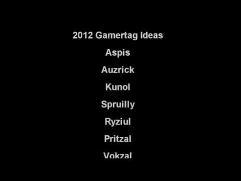 Great gamertag ideas