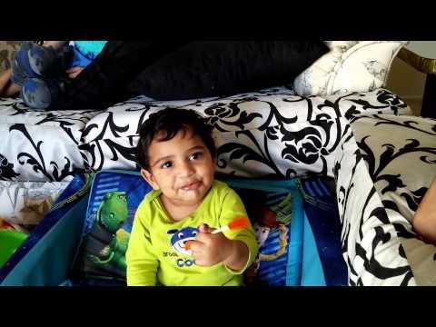 Sriju first lollypop