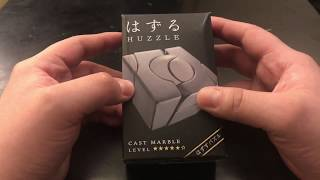 Hanayama [ Marble Cast Puzzle ] Unboxing And Solving (Warning: Spoilers!) - MrMaD
