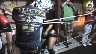 9.6.2012  FOXY BOXING at TOLEDO MAINSTREET FIGHT-2 LORI vs KATIE