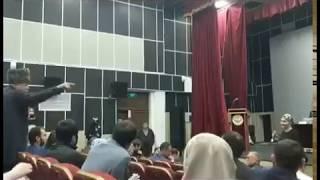 Спор Барахоева с женщиной | #ЧечняКавказРоссия