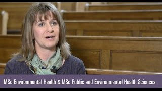 Dr Zena Lynch, Programme Director for the MSc in Environmental Heal...