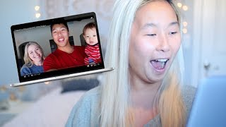 REACTING TO: Pregnancy Announcement!!! KKandbabyJ