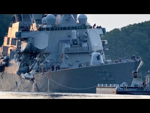 Bodies found on USS Fitzgerald after collision