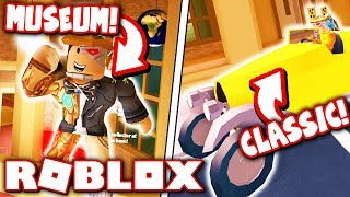 NEW MUSEUM ROBBERY + CLASSIC CAR in JAILBREAK UPDATE!! (Roblox)