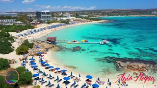 Cyprus Makronissos Beach  Ayia Napa - May 2019