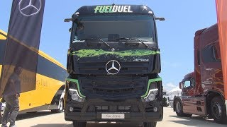 Cover images Test Drive of Mercedes Benz Actros 1845 Fuel Duel Tractor Truck