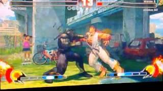 Street Fighter IV - Bison vs Ryu