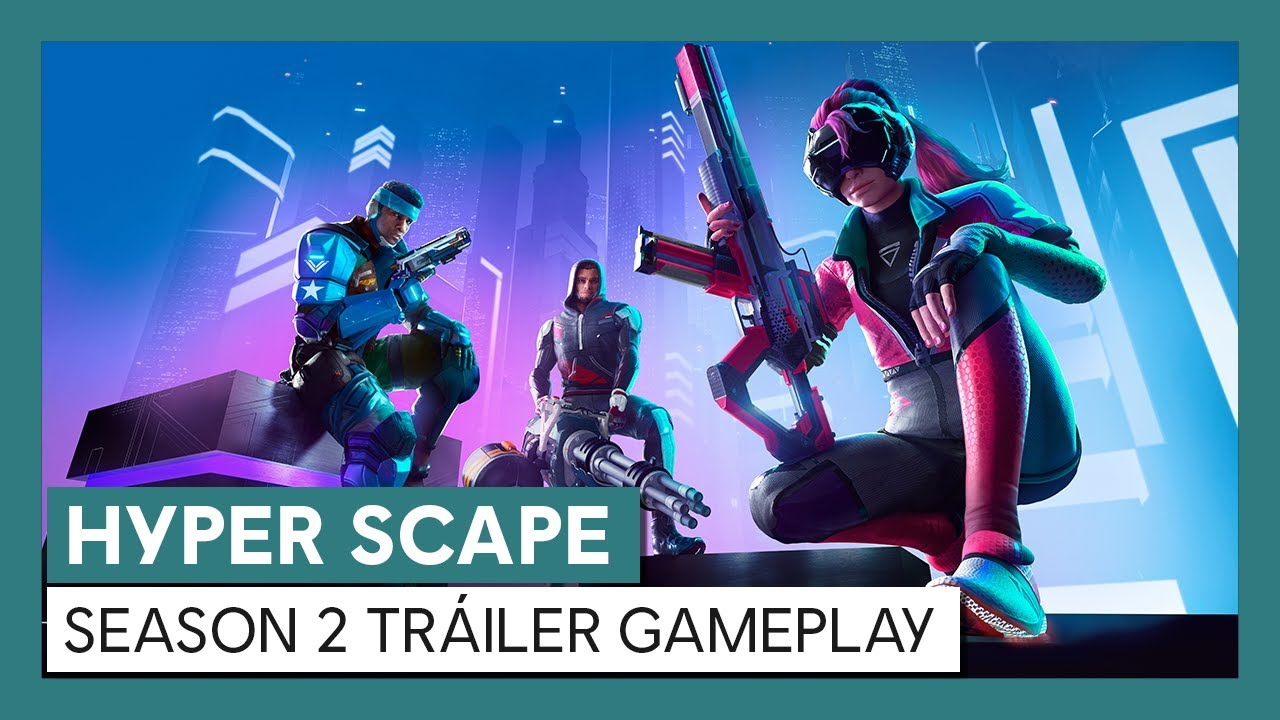 Hyper Scape: Season 2 Tráiler Gameplay