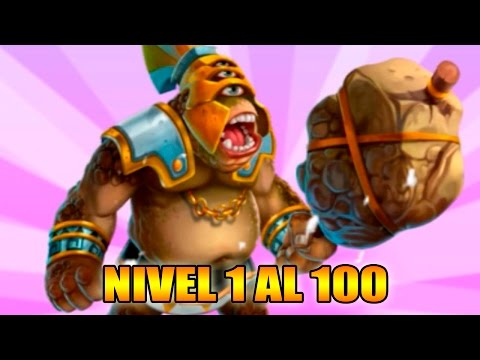 Monster Legends - Brontes - Nivel 1 al 100 & Combate - Review Ataques
