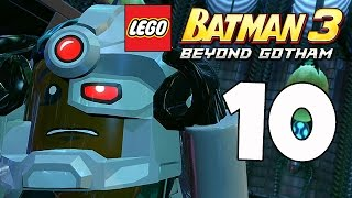 LEGO Batman 3: Beyond Gotham - The Lantern Menace - Part 10 (Xbox One Gameplay)