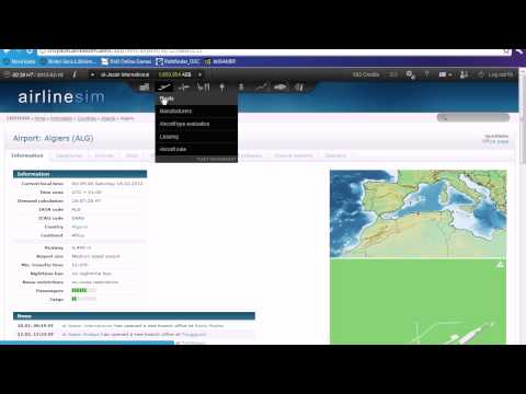 Airlinesim Tutorials 3 - Route setting, demand calculating,