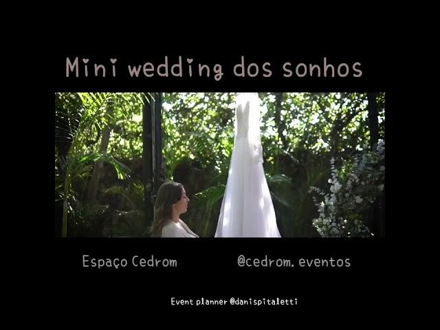 Espaço para Miniwedding em São Paulo - Elopement wedding em SP