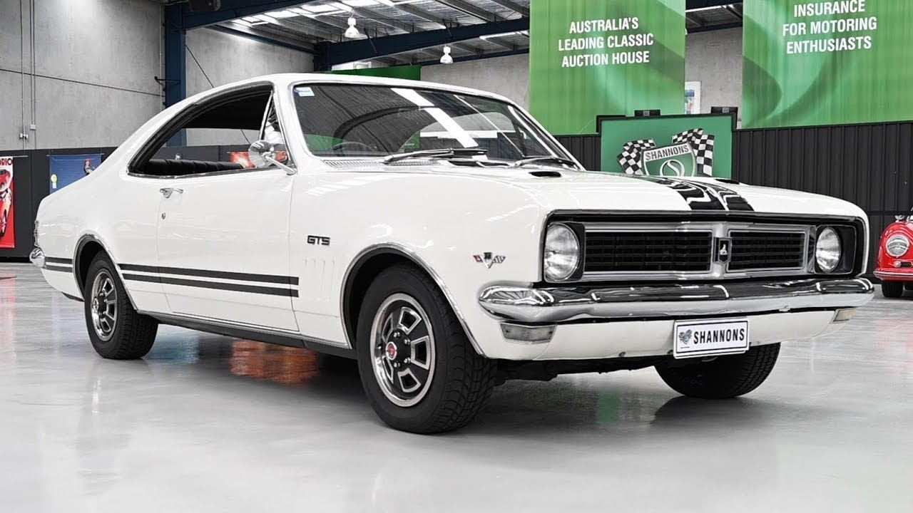 1969 Holden HT GTS Monaro 350 Coupe - 2019 Shannons Melbourne Summer Classic Auction