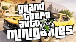GTA V Gameplay: Minigames and Leisure Activities In-Depth