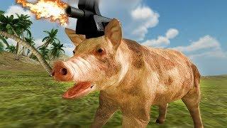 САМЫЙ УГАРНЫЙ СИМУЛЯТОР - Beast Battle Simulator