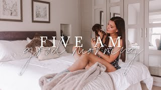 Summer Morning Routine 2020 🌼 | Waking Up At 5AM + Preparing To Work From Home