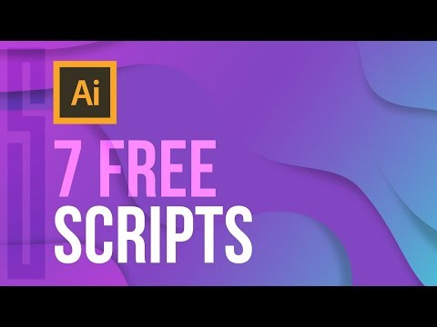 7 FREE Illustrator Scripts (MUST HAVE) Mp3