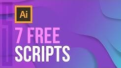 7 FREE Illustrator Scripts (MUST HAVE)