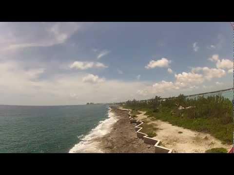 Paramotor Bahamas Flight over Arawak Cay, Nassau Bahamas