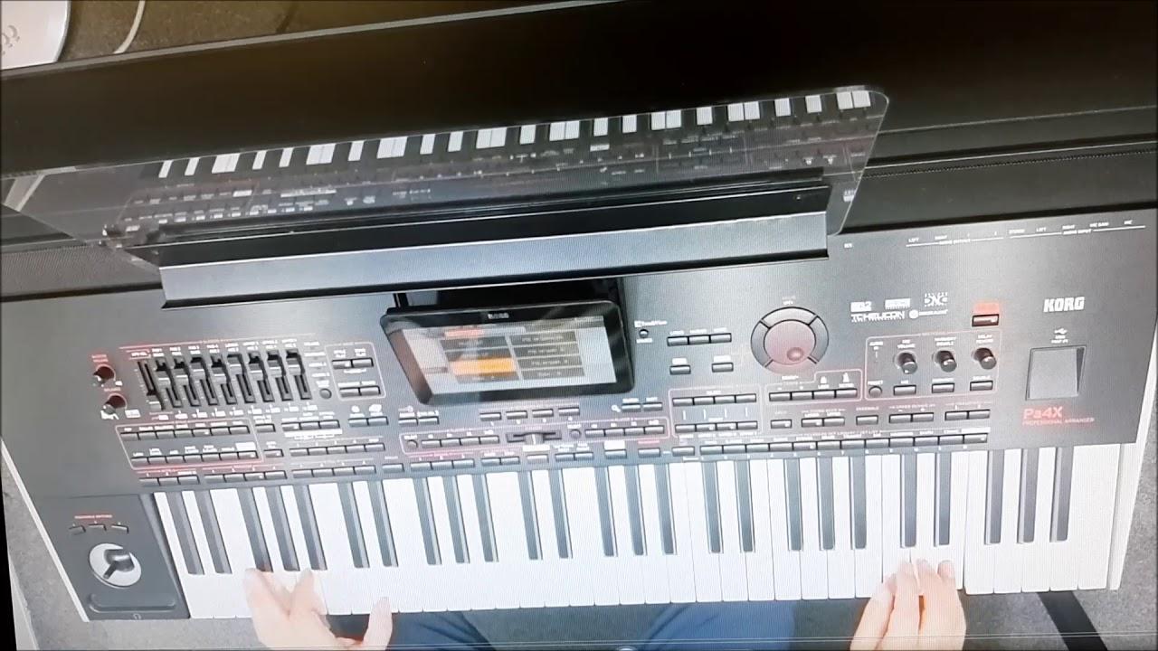 소양강처녀 반주는 유튜브 전자올겐 연주가이신 한 #수한 선생님 전자올겐 랜선 콜라보 도전-노래방 무선마이크