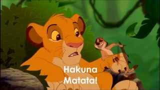 Lion King Hakuna Matata  LYRICS