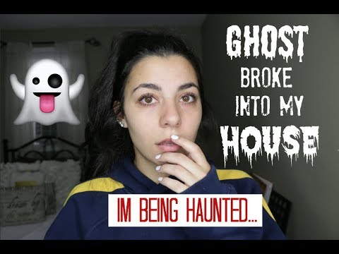 PARANORMAL STORYTIME | There's A GHOST in my HOUSE.