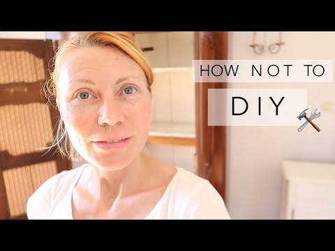 FURNITURE MAKEOVER BEFORE & AFTER   HOW NOT TO DIY