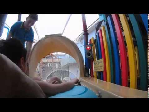 Polaroid Cube shot Alton Towers Splash Landing Water Park