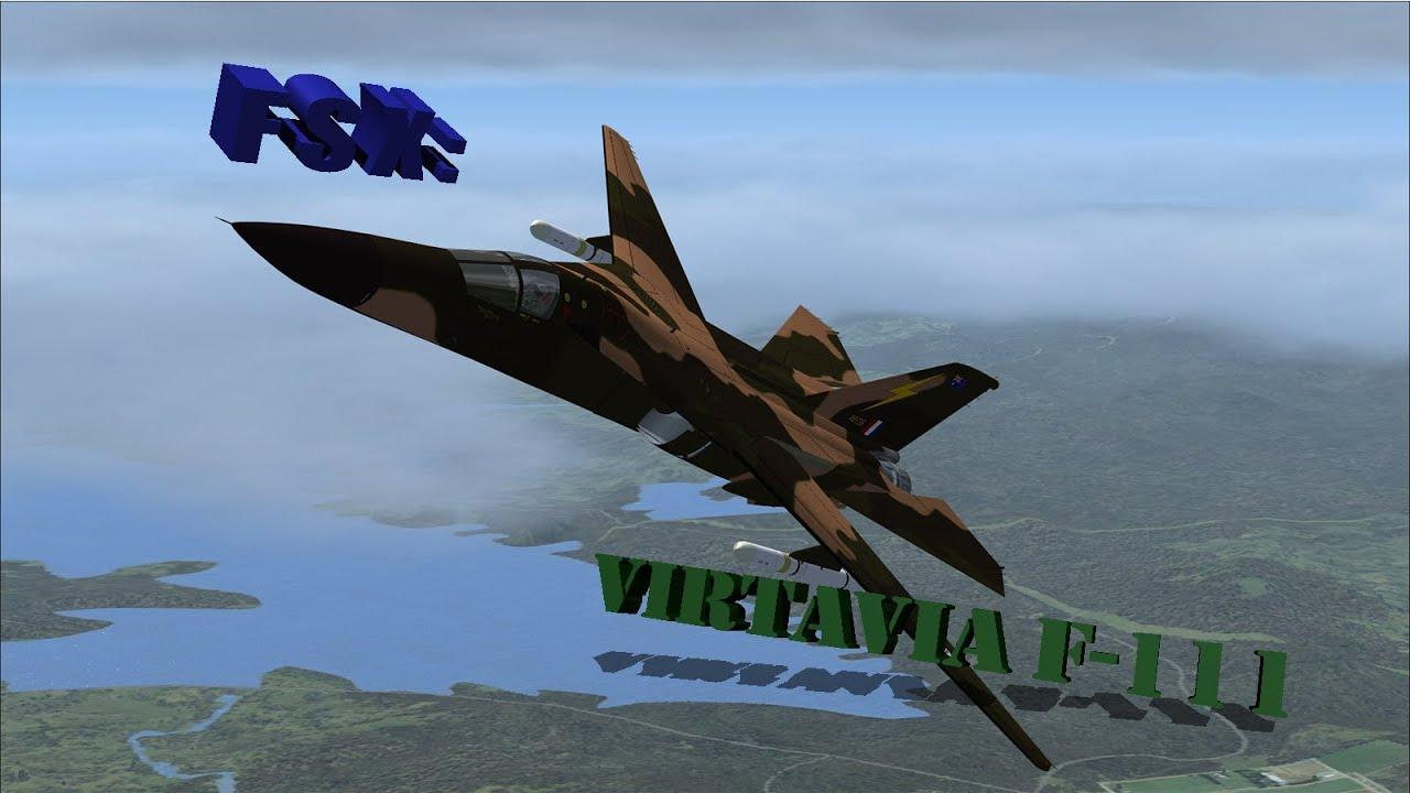 FSX - Virtavia F-111 Aardvark Review