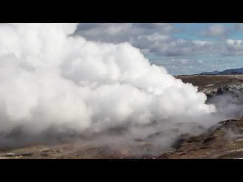 Iceland geothermal activity