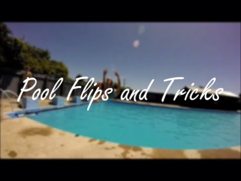 Pool Flips And Tricks (Double, Gainers And More) - 2015