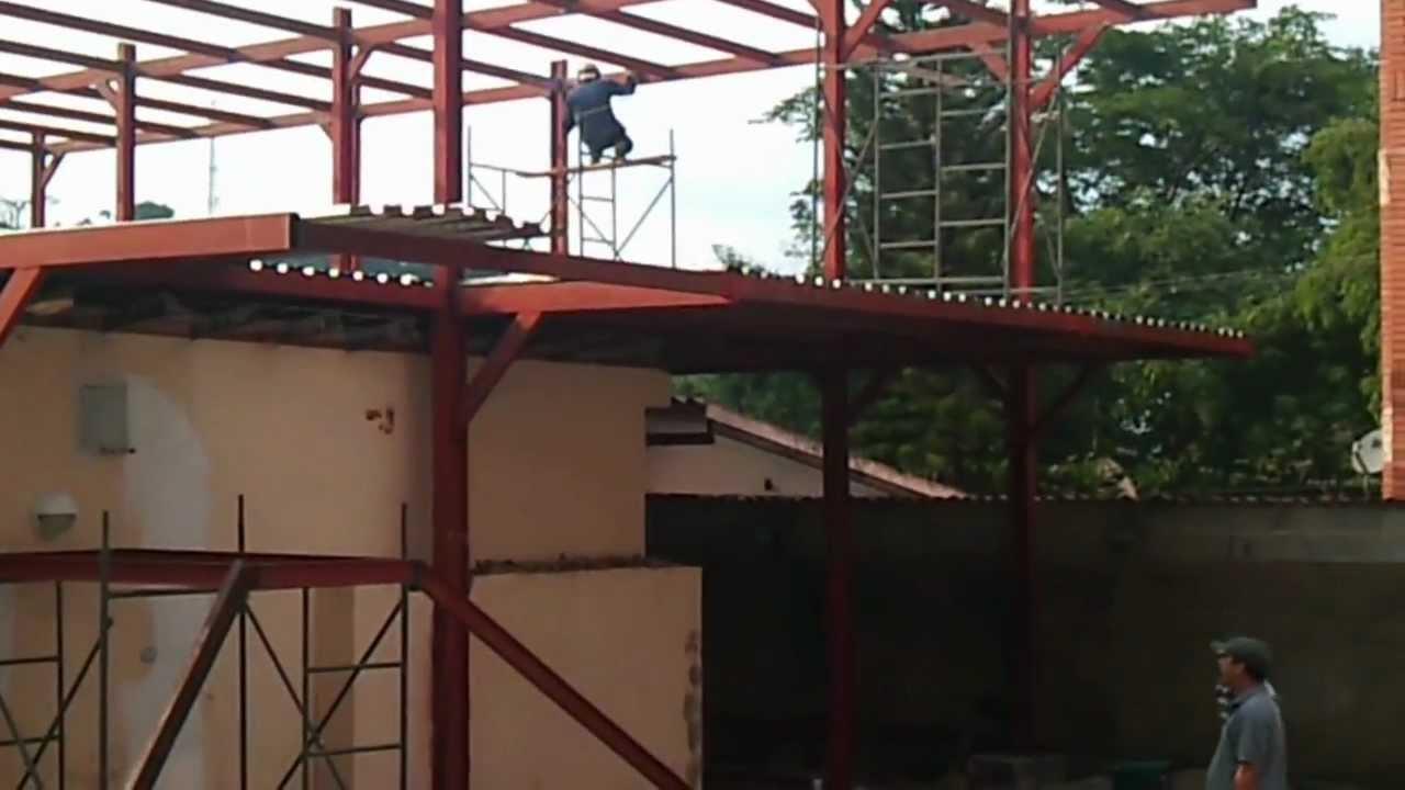 Estructura metalica vivienda affordable estructuras - Estructura metalicas para casas ...
