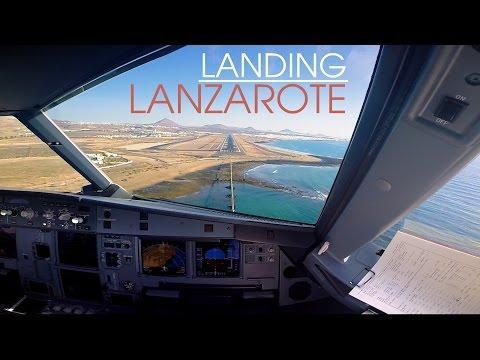 Lanzarote web cam. Airportand more