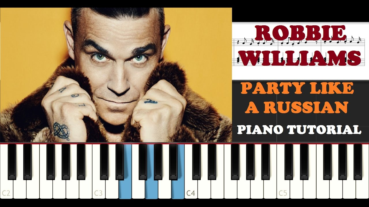 Robbie Williams Piano Tutorials By Dario D'Aversa