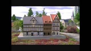 Miniaturenpark Kleiner Harz im Bürgerpark Wernigerode
