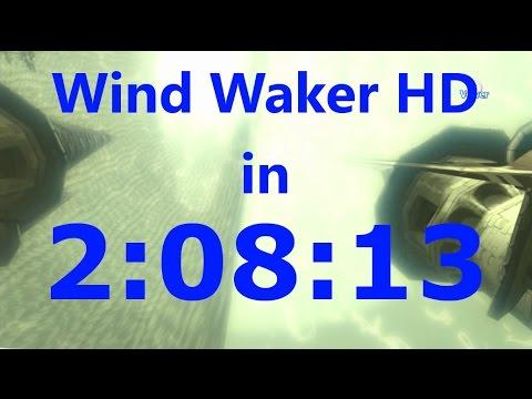 Wind Waker HD Any% Speedrun in 2:08:13 (w/ Barrier Skip)