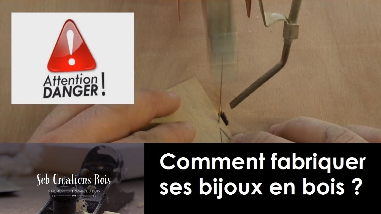 comment fabriquer ses bijoux en bois youtube. Black Bedroom Furniture Sets. Home Design Ideas